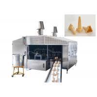 0.75kw Commercial Waffle Cone Machine 3500Lx3000Wx2200H Customized