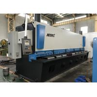 Auto Cutting Sheet Metal Guillotine Cutter With Germany Bosch Rexroth Hydraulic System Manufactures