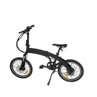 China Low Noise Foldable Electric Bicycle , Fat Tire Electric Bike With LCD S900 Display on sale