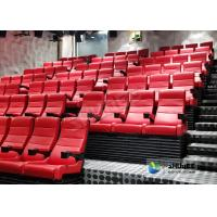 Ultra Energy Saving 4D Movie Theater With Environmental Effects Simulation Manufactures