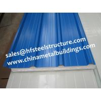 EPS Sandwich Cold Room Panel Width 950mm Used For Wall and Roof Decoration