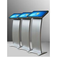 Free Standing Capacitive Interactive Touch Screen Kiosk 21.5 Inch Metal Material Manufactures