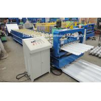 Double Layer Roofing Sheet Roll Forming Machine Width 1200mm , 3 Phase Manufactures