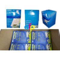Customized Packing 5mil 125micron A4 Glossy PET Polyester Pouch Laminating Film for Documents Photos Protection Manufactures