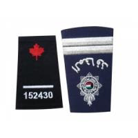 Quality applique flower embroidered patch for sale
