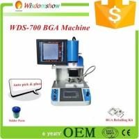 Automatic WDS-700 bga rework station with HD optical alignment for cellphone laptop chip motherboard repair Manufactures