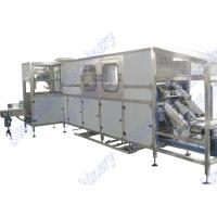 Automatic 5 Gallon Water Filling Machine For Bottle Washing , Filling , Capping , Packing Manufactures