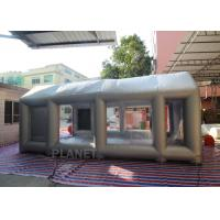 Automatic Car Inflatable Spray Paint Booth 6mx4mx3m With Logo Printing Manufactures