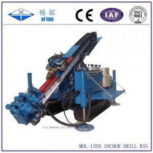 China Full Hydraulic Power Head Crawler Anchor Drilling Machines MDL - 135D on sale