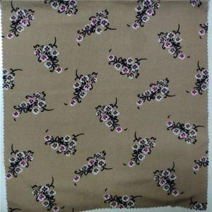 100% Printed Rayon Fabric 30X30 Yarn Count 57/58'' Width Digital Printing