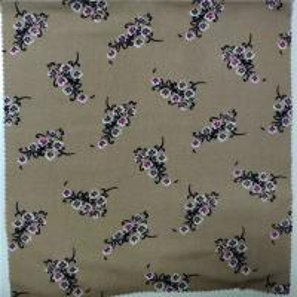 Quality 100% Printed Rayon Fabric 30X30 Yarn Count 57/58'' Width Digital Printing for sale