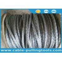 24mm Anti-twisting Breaking Load 360kN Braided Steel Wire Rope Overhead Line Stringing Rope Manufactures