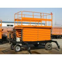 300kg mobile hydraulic scissor lifting platform Safety with Heavy load capacity Manufactures