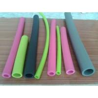 Small Diameter Silicone Coloured Foam Tubes Non Toxic For Water And Fluid Lines Manufactures