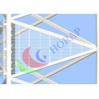 Glass Wall Video LED Curtain Screen High Resolution High Refresh Rate For Advertising Manufactures