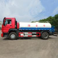 China Water Tank Truck Hot Sale 290HP, Euro 2 Standard Tank Truck, Water Hauling Truck, Water Transport Truck