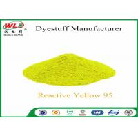 Reactive Brill Yellow P-6GS Permanent Dye For Clothes C I Yellow 95 P-type Manufactures