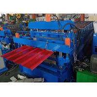 China Double Layer 840/850 Roofing Sheet Roll Forming Machine 6 Kw Power on sale