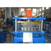 Buy cheap 200-600mm Width Adjustable Shelving Rack Roll Forming Machine with GCr15 Steel from wholesalers