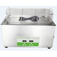 Stainless Steel Industry Heated Ultrasonic Cleaner Heater Timer 30l Axis And Shaft Parts Manufactures