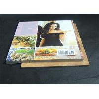 Gloss Lamination Customized Cookbook printing , hardcover photo book printing Manufactures