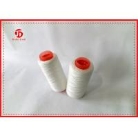 China Ring Spun Polyester Paper Cone Yarn For Knitting Gloves Wear Resistant wholesale