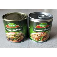 184G Canned Champignon Mushroom Canned Fresh Mushrooms Slices / Pieces And Stems Manufactures