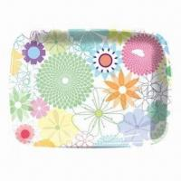 Tea/Serving Tray, Measures 400 x 260 x 25mm, Made of 100% Melamine Manufactures