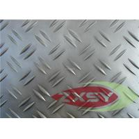 Polished Hot Rolled 3003 Aluminum Checkered Sheet Continuous Casting Manufactures