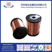 Copper Clad Steel CCS Wire, Not Copper Coated Steel Wire, 15%-40% conductivity