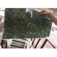 Natural Green Marble Ultra Thin Stone Easy Construction For Wall Panel Manufactures