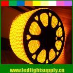 5050 AC strip lights 220V yellow emitting 60LED/M Manufactures