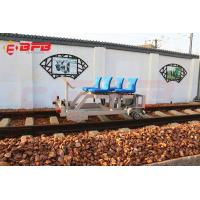 China Rail guided motorized railway track inspection repairment maintenance rail vehicle on sale