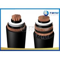 Buy cheap PE Outer Sheath 500kV High Voltage Copper Cable Corrugated Aluminum Armour from wholesalers