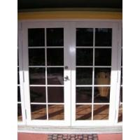 China Double Glazing 50 Series Aluminum Non-Thermal Break French Door on sale