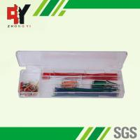 China Pre - Cut 140 Strips Breadboard Jumper Cables Box With Copper Clad Aluminum Conductor on sale