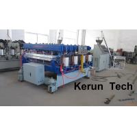 Twin Screw Automatic Color Upvc Profile Extrusion Line / Wpc Extrusion Machine Manufactures