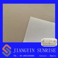 0.7mm Sofa Synthetic Leather For Furniture Upholstery / Soft Chair Pvc Leather Fabric Manufactures