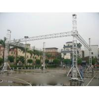 Outdoor Aluminum Stage Truss With Aluminum Tube / LED Screen Truss Manufactures