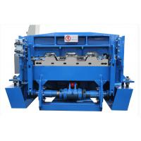 China Metal Floor Deck Roll Forming Machine For Material Thickness 0.8-1.5mm on sale