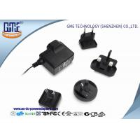 Interchangeable 5V 1A AC DC Power Adapter CE CB GS UL FCC PSE ROHS RCM Manufactures