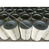 China Self - Cleaning Pleated Filter Cartridge , Air Filter Cartridge In Industrial Filtration on sale