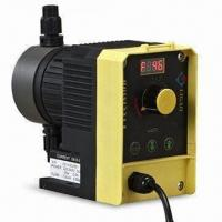 Solenoid Diaphragm Metering Pump with 0 to 15L/Hour Flow Rate and Low Power Consumption Manufactures