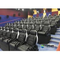 Unique 5D Cinema Equipment Electric Or Pneumatic System / Motion Theater Chair Manufactures