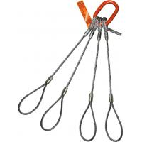Heavy Duty Top Thimble Wire Rope Sling Oblong Master Link Soft Eye Sling Manufactures