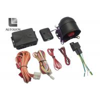 Ungraded One Way Auto Car Security System With Remote Control And Windows Closer Manufactures