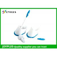 Professional Toilet Cleaning Items TPR Material Toilet Bowl Brush And Holder Manufactures