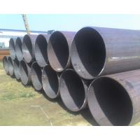 Round Carbon Steel Hot Rolled Seamless Pipe API ASTM A53 ERW For Transportation