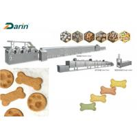 SUS304 Automatic Pet Dog Biscuit Making Machine Made By Stainless Steel Manufactures