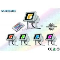 Industrial Plants 10W Led Flood Light ,  Led Light Flood Light 80 lm / W COB  RGB Manufactures